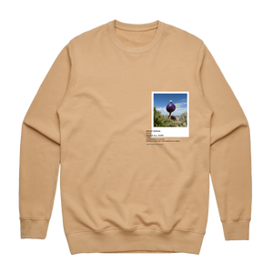 Hands All Over 08   Men's 100% Cotton Gallery Sweatshirt in Tan / XXL by Serap Osman