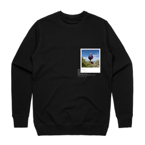 Hands All Over 08   Men's 100% Cotton Gallery Sweatshirt in Black / XXL by Serap Osman