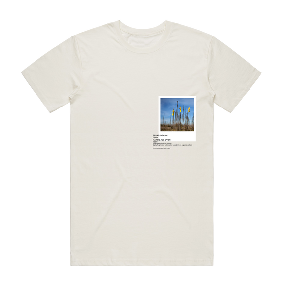 Hands All Over 09   Men's 100% Organic Cotton Gallery T-shirt in Natural / XXL by Serap Osman