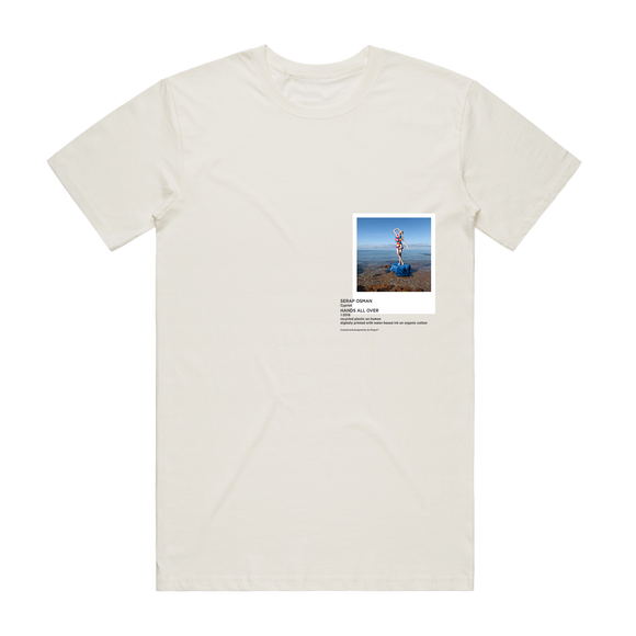 Hands All Over 11   Men's 100% Organic Cotton Gallery T-shirt in Natural / XXL by Serap Osman