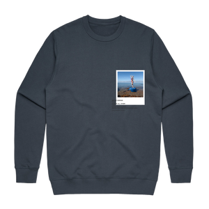 Hands All Over 11   Men's 100% Cotton Gallery Sweatshirt in Air Force Blue / XXL by Serap Osman