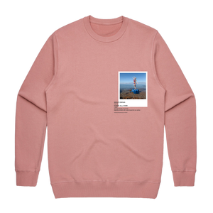 Hands All Over 11   Men's 100% Cotton Gallery Sweatshirt in Rose / XXL by Serap Osman