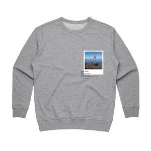 Hands All Over 11   Women's 100% Cotton Gallery Sweatshirt in Grey / XL by Serap Osman
