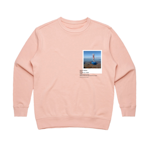 Hands All Over 11   Women's 100% Cotton Gallery Sweatshirt in Pale Pink / XL by Serap Osman