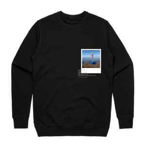Hands All Over 11   Men's 100% Cotton Gallery Sweatshirt in Black / XXL by Serap Osman