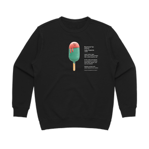 Cake Popsicle 01   Women's 100% Cotton Gallery Sweatshirt in Black / XL by Raymond Tan