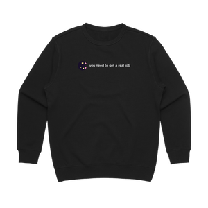 The Unfortunate Cookie 04   Women's 100% Cotton Sweatshirt in Black / XL by Raymond Tan