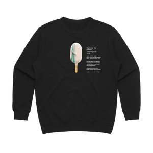 Cake Popsicle 06   Women's 100% Cotton Gallery Sweatshirt in Black / XL by Raymond Tan