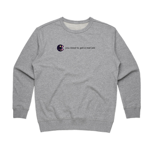 The Unfortunate Cookie 04   Women's 100% Cotton Sweatshirt in Grey / XL by Raymond Tan