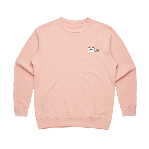 Miiya   Women's 100% Cotton Embroidered Sweatshirt in Pale Pink / XL by Enpei Ito