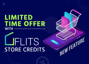 Now give your customers limited period offers with Flits Store credit