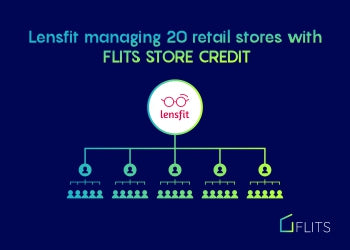 How Lensfit is using Flits Store credit to manage 20 physical retail stores