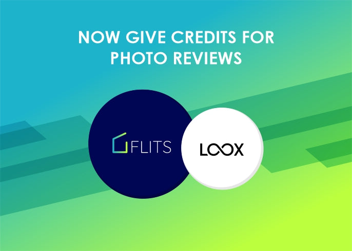 Flits integrated with Loox, now get photo reviews and give credits on photo reviews