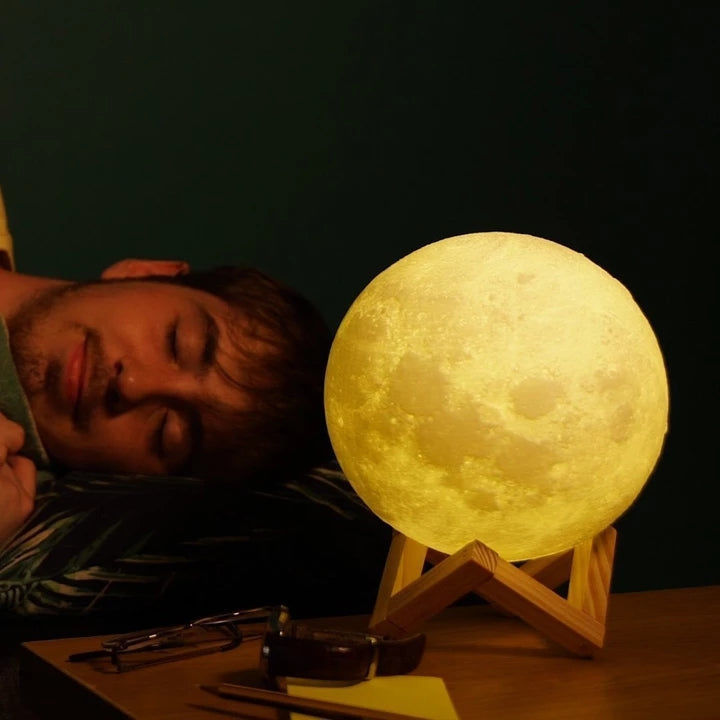 3D Enchanting Moon Lamp -- Hold The Moon In Your Hand