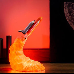 3D Space Shuttle Night Lamp (Rechargeable)