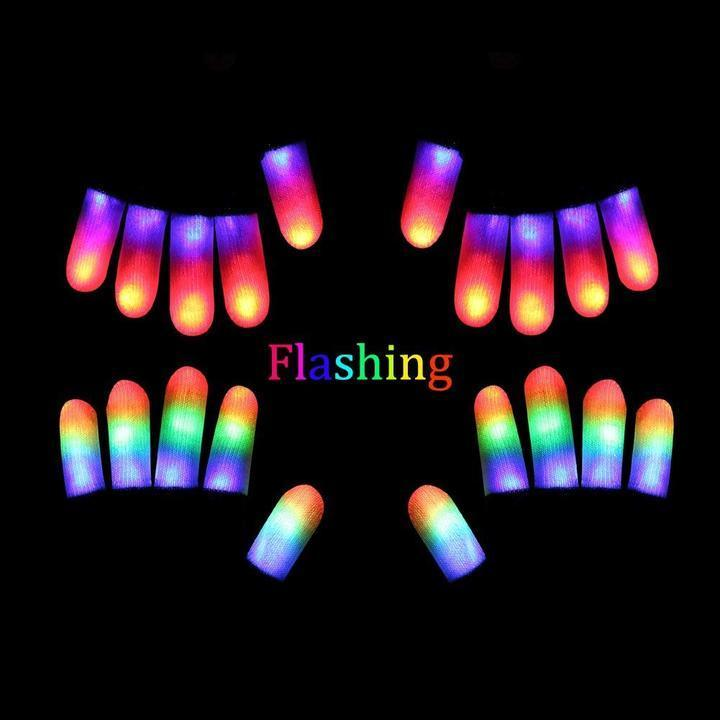 【Hot Sale Now】- LED Light Up Gloves