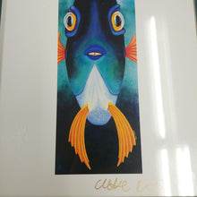 Load image into Gallery viewer, Charlotte Nicolin Signed Print in Frame