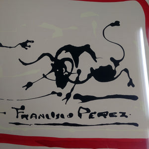 Limited Edition Signed Print by Francisco Perez 1970