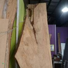 "Load image into Gallery viewer, Treincarnation Live Edge Lumber – American Elm 30.5-37"" x 120.5"""