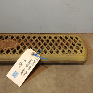 Vintage Cast Iron Radiator Cover