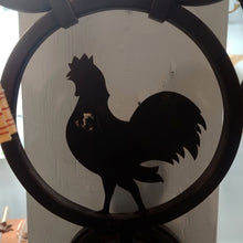 Load image into Gallery viewer, Two Light Rooster Sconce