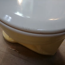 Load image into Gallery viewer, Vintage Yellow Two Piece American Standard Toilet F4049