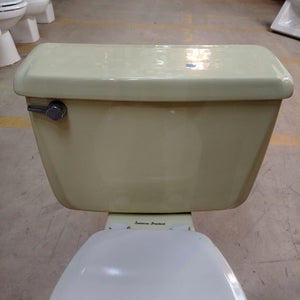 Vintage Yellow Two Piece American Standard Toilet F4049