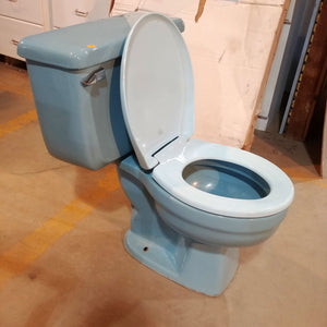 Two-Piece Toilet by American Standard Plebe in Regency Blue