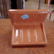Load image into Gallery viewer, Vintage Ceramic Soap Dish in Light Brown