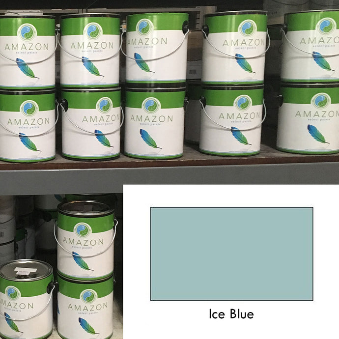 1-Gallon Amazon Select Paint: Ice Blue