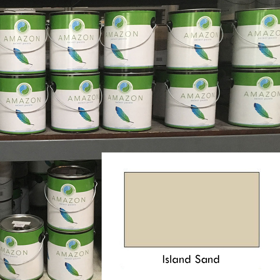 1-Gallon Amazon Select Paint: Island Sand
