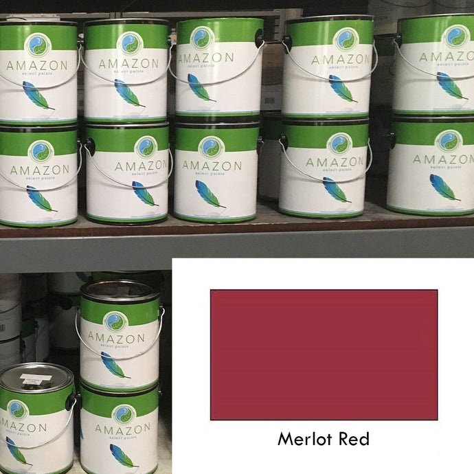 1-Gallon Amazon Select Paint: Merlot Red