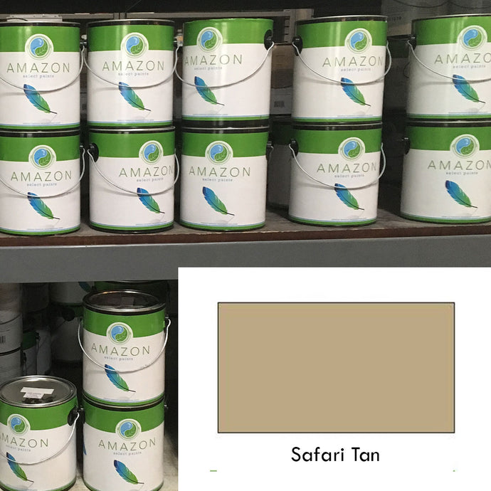 1-Gallon Amazon Select Paint: Safari Tan
