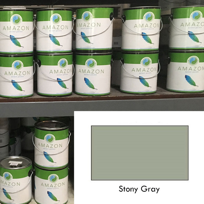 1-Gallon Amazon Select Paint: Stony Gray