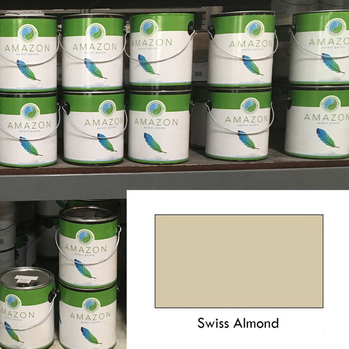 1-Gallon Amazon Select Paint: Swiss Almond