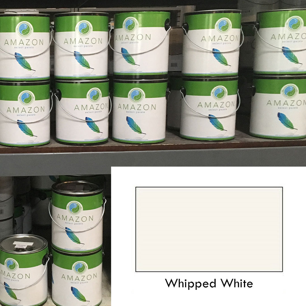 1-Gallon Amazon Select Paint: Whipped White