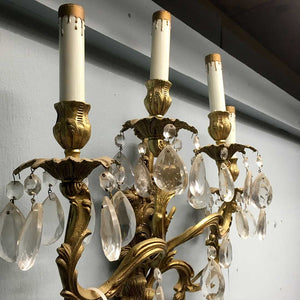 4-light Droplet Wall Sconces