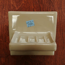 Load image into Gallery viewer, Vintage Ceramic Soap Dish in Avocado