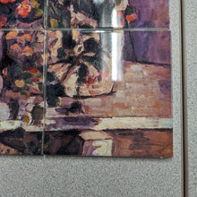 Load image into Gallery viewer, Still Life with Petunias by Paul Cezanne Tile Mural