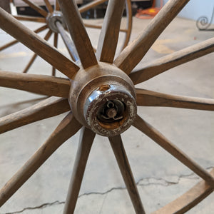 Vintage Cart Wheels