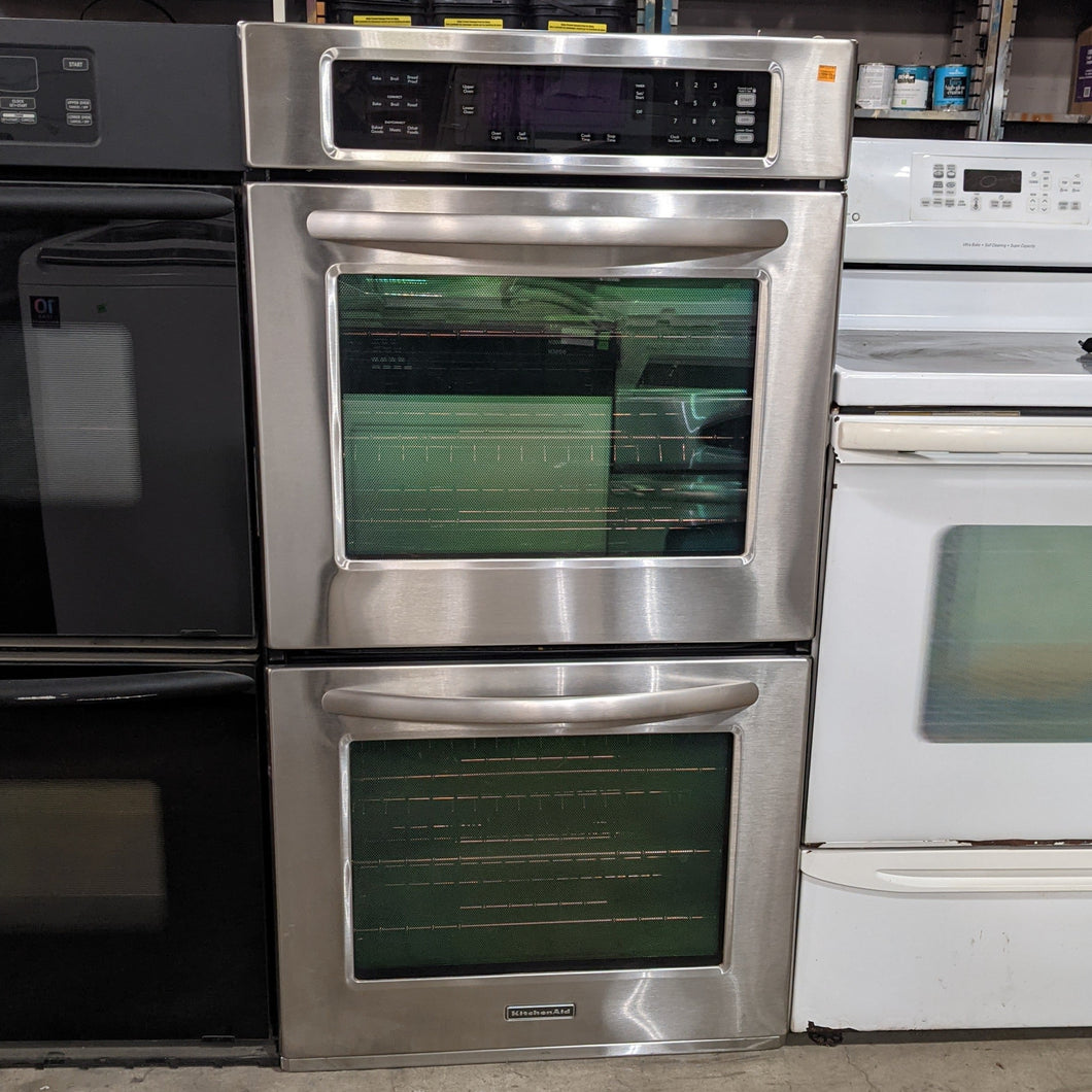 Double Wall Oven by KitchenAid KEBS278SSS04
