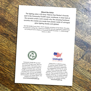 Lifting US Veteran Artwork Notecards