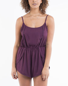 6c474319b09 All About Eve Plum Playsuit – ConspiracyClothing