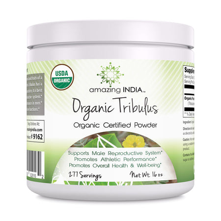 Amazing India Organic Tribulus Powder 16 Oz