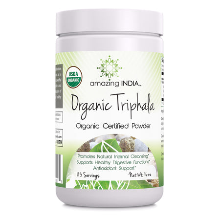 Amazing India Organic Triphala Powder 16 Oz