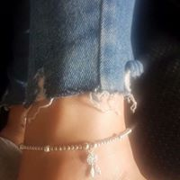 Load image into Gallery viewer, Sterling Silver Dream Catcher Anklet