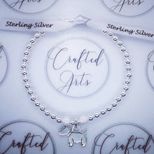 Load image into Gallery viewer, Sterling Silver Dog Bracelet