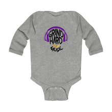 Load image into Gallery viewer, GrindHardMusic Infant Long Sleeve Bodysuit
