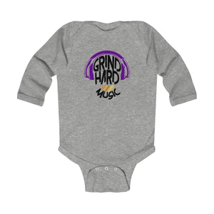 GrindHardMusic Infant Long Sleeve Bodysuit