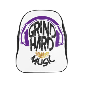 GrindHardMusic School Backpack